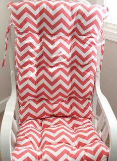 Nice Pink Rocking Chair Cushions