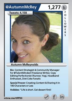 Content Strategist & Community Manager for @TalentMinded | Freelance Writer, Copy Editing Perfectionist | Runner, Yogi, Headband Enthusiast, Diet Coke Fanatic