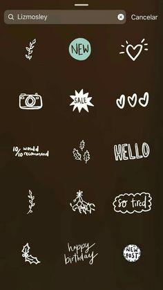 Instagram Emoji, Iphone Instagram, Creative Instagram Stories, Instagram And Snapchat, Instagram Blog, Instagram Story Ideas, Instagram Quotes, Cute Gifs, Snapchat Filter