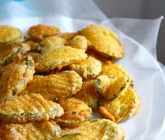 Fried pickles are one of my favorite junk foods! Theyre easy to cook up, and they are damn tasty. Perfect to go along with BBQ or burgers! Now that Ive moved away from Kentucky, I cant get them as often when we go out to eat, so Ive started