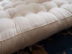 Make your own mattress : : reduce your chemical load by cutting out flame retardants.