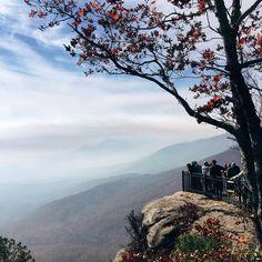 Caesars Head Overlook is a stunning glimpse of the Blue Ridge Mountains. Instagram photo by sarah elizabeth gorman // yeahthatgreenville