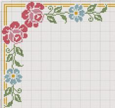This Pin was discovered by 974 Counted Cross Stitch Patterns, Cross Stitch Designs, Cross Stitch Embroidery, Embroidery Patterns, Paper Embroidery, Doily Patterns, Dress Patterns, Cross Stitch Boards, Cross Stitch Rose