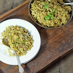 beef pilaf — A Brown Table
