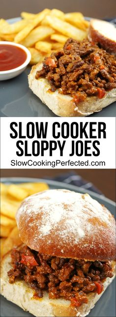Deliciously Rich Slow Cooker Sloppy Joes