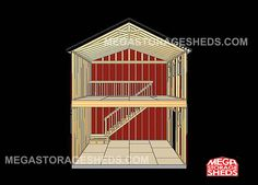 Mega Storage Sheds Two Story Cabins 2 Shed House Plans Cabin. All About House and Floor Plans ~ 2 story shed house plans 2 story shed roof house plans Shed Storage, Built In Storage, Prefabricated Sheds, Tuff Shed, Garden Tool Shed, Shed Kits, Diy Shed Plans, Wooden Sheds, Shed Homes