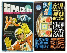 Space: 1999 colorforms adventure set, 1976
