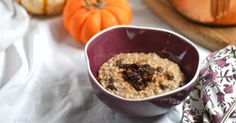 This hearty breakfast is like pumpkin pie and oatmeal colliding.