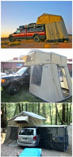 Cascadia tents rule all other tents. Including cars.