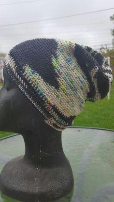 Crochet Sockhead in Black Cat Fibers 10:15 On A Saturday Night blackcatfibersllc.etsy.com