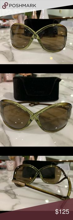 8bf31a1d7f TOM FORD WHITNEY sunglasses OVERSIZED SOFT ROUND PLASTIC SUNGLASSES WITH  ICONIC CROSSOVER DETAIL AND CUTAWAY LENSES. Good condition Tom Ford  Accessories ...