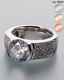 Pfeffinger Ring mit Zirkonia