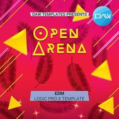 "Open Arena Template  Created in Logic Pro X 10.3.1  Logic Pro X Templates are produced exclusively using original instruments from Logic Pro X and royalty free samples from Big Sound.  Genre: EDM BPM: 128 Produced: BY Cj Stone  DAW: Logic Pro X  <iframe width=""100%"" height=""166"" scrolling=""no"" frameborder=""no"" src=""https://w.soundcloud.com/player/?url=https%3A//api.soundcloud.com/tracks/312891344&color=ff5500&auto_play=false&hide_related=false&show_comments=true&amp..."