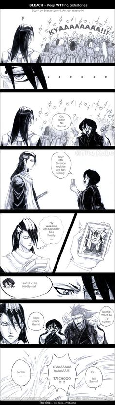 HERE IS THE CRACK STUFF!!! One more for the Keep WTFing Side Stories eries! XDDD This one is Thanks to for explaining to me WTF is a Catnip... I didn't know that! XD Grimmjow: YOU DIDN'T??? O.O Ulq...