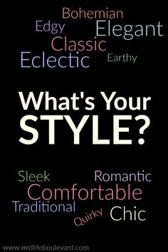 "Goal for 2016: Embrace Your Style There are women who embrace it, and others who hate the word and reject it. Therefore, I am here today to defend the word ""style."" Like it or not, we all have a particular style..."