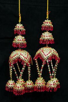 Pink Bridal Kalira / Kaleera