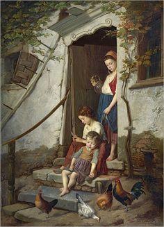 The farm children.  1867_Théodore Gérard