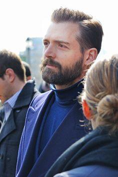 Azul Patrick Grant. Hair and beard