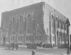 Temple University in February of 1931.