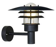Applique LONSTRUP 32 fonte d'acier, noir - H28
