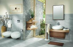 Gray Bathroom Vanity   Design Photos, Ideas And Inspiration. Amazing  Gallery Of Interior Design And Decorating Ideas Of Gray Bathroom Vanity