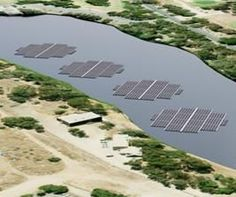 City Wants Floating Solar Power Plant To Fight Water Pollution - Wisonsin town wants to install a 5 MW floating solar plant to clean up wastewater.