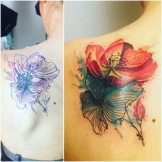 cover up by Noa flowers made at tattoo anansi munich