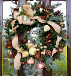 Christmas Wreath - Rustic Winter by EverythingFloral