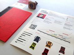 Book Portfolio by Carlos Lizarraga, via Behance
