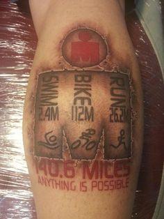 triathlon tattoos - Google Search