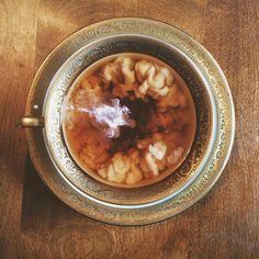 coffee, milk, and tea image Coffee Cups, Tea Cups, Coffee Milk, Tea Cocktails, Drinks, Tea Art, Fika, Milk Tea, Morning Light