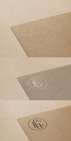 Free Logo Mockup On Cardboard Paper