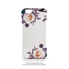 iPhone 6S Case iPhone 6S Plus Case Florals iPhone by HelloNutcase