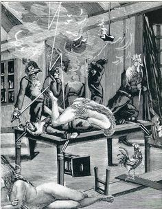 "Illustration to ""A Week of Kindness"", 1934, Max Ernst Size: 13x18 cm Medium: collage, paper"
