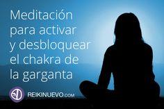 Meditación para activar y desbloquear el chakra de la garganta