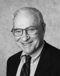 Kenneth Arrow, Stanford University, Nobel Memorial Prize in Economincs with John Hicks.