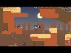 Teeworlds - RAW Gameplay 1 - Teeworlds is a Free to Play [F2P], 2D Shooter Multiplayer Game