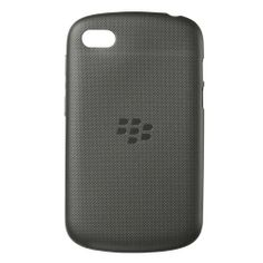 Blackberry Q10 Soft Shell Case - Black