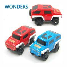 Baru 2017 anak-anak toys paduan mobil mainan listrik untuk orbit track mainan anak hadiah