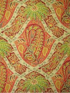 Polynesian Paisley Bonfire - Bridal Fabric by the Yard Tommy Bahama, Fabric Patterns, Print Patterns, Floral Print Fabric, Paisley Print, Beach Fabric, Bridal Fabric, Tuscan Design, Mediterranean Home Decor