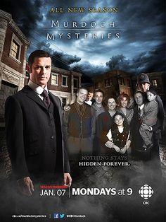 Regarder  la série Les Enquêtes de Murdoch Saison 5 streaming VF complete gratuit:Toronto 1892. William Murdoch est un jeune et brillant ....