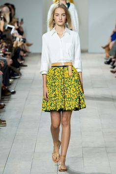 4 Spring 2015 Trends You CAN Wear! www.styleblueprint.com  Micheal Kors spring 2015 ready to wear