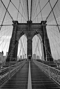 Brooklyn Bridge! I love going for a run across the bridge!
