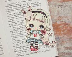 Alice dans un signet au pays des merveilles par ribonitachocolat
