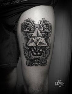 ien levin #tattoo