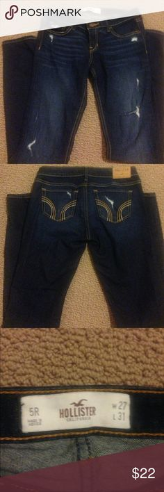 Hollister Jeans 5 regular,  Wore a couple times , great condition . Give me a offer Hollister Jeans Skinny