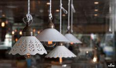 Il Fanale lamps. Criniti's  Ristorante