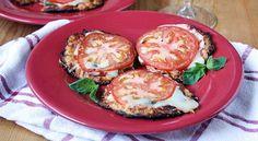 Cauliflower crust mini pizzas