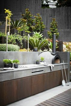 44 Beautiful Modular Outdoor Kitchens Design for your Dream Beautiful Modular Outdoor Kitchens Design for your Dream amazing outdoor kitchen ideas on a budget Diy outdoor grill area cinder blocks 38 best ideasDiy Design Barbecue, Grill Design, Patio Design, Garden Design, Landscape Design, Outdoor Bbq Kitchen, Outdoor Kitchen Design, Outdoor Kitchens, Outdoor Cooking Area