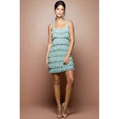 Acqua Bellini Crochet Dress - Vanessa Montoro USA - vanessamontorolojausa